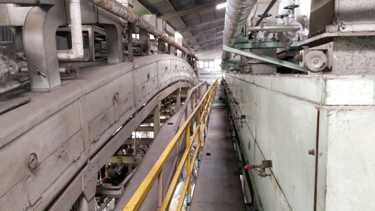 Two, High-Speed Coating Line