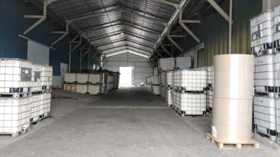 Raw Material Pre QC Holding Area